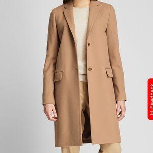 Uniqlo cashmere/wool overcoat